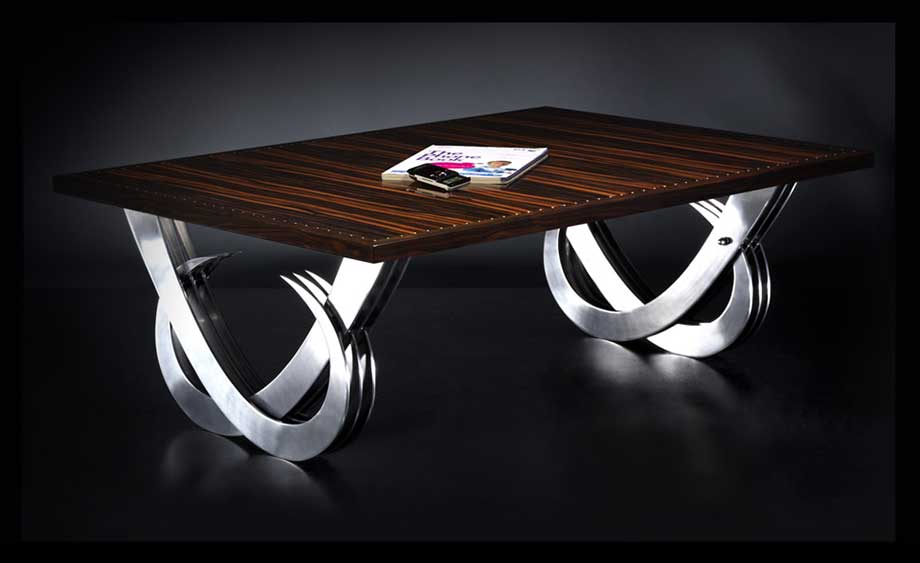 The Sienna Table by Skolnik-London, makers of fine furniture.
